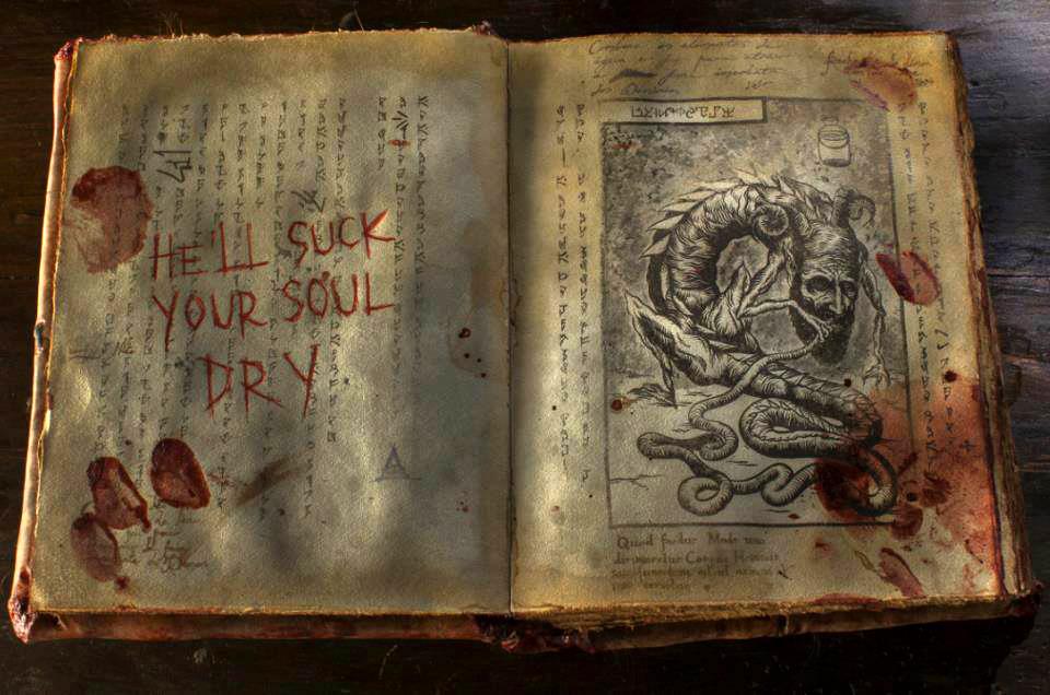 El Necronomicon de Posesión Infernal (Evil Dead 2013)