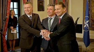 НАТО призывает Россию прекратить поддержку сепаратистов и начать диалог с Украиной