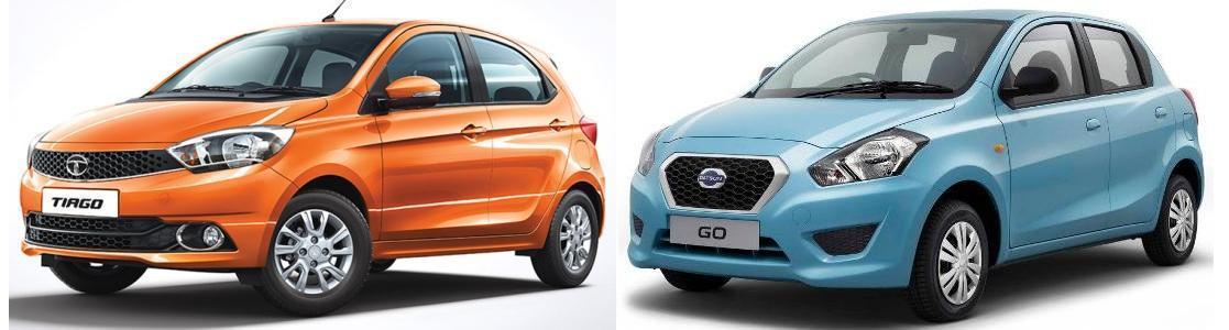 Tiago vs Datsun Go Comparison