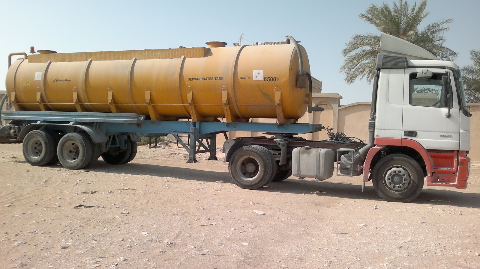 WHITE CORNER TRADING & CONTRACTING CO : Sewage Tanker Service in Doha
