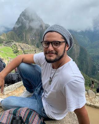 Bruno Gissoni em Machu Pichu — Foto: Reprodução/Instagram