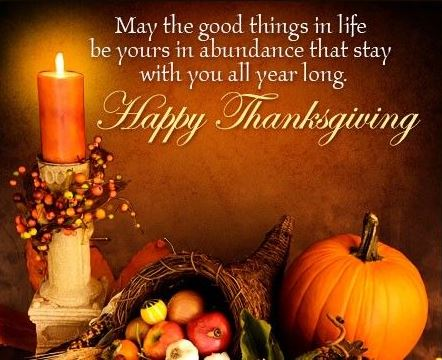Thanksgiving Day Wishes to Friends