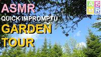 relaxing garden tour