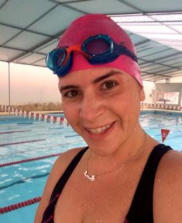 2º dia de desafio: Treino de natação realizado com sucesso 1