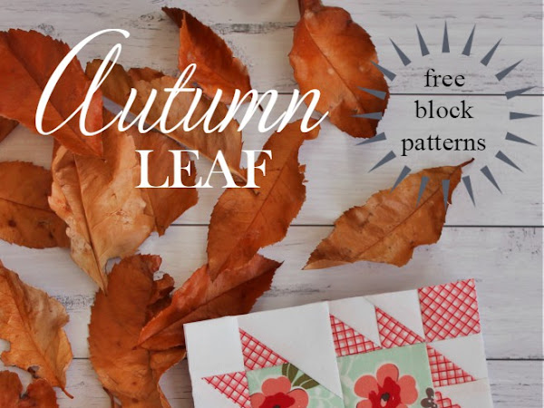 {Free Pattern} Autumn Leaf- Free Block Patterns
