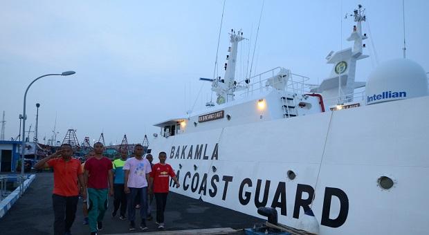Sebanyak 16 CPNS Baru Perkuat Kapal Patroli Bakamla RI