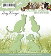 http://www.kreatrends.nl/ADD10023-Snijmal-Amy-Design-Animal-Medley-Cats-and-Dogs