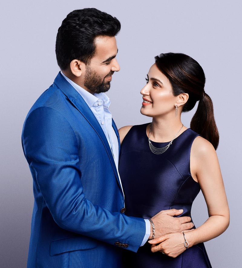 Zaheer and Sagarika mark their first Valentine's Day with Platinum