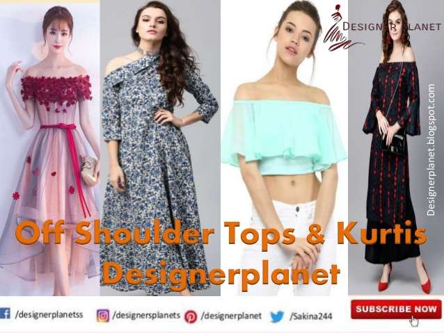 How to Look Great with Off-Shoulder Kurtis and Top | Designerplanet