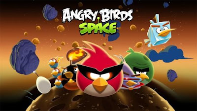 Play Angry Birds Space in  iPad
