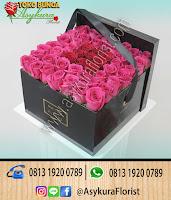 Toko Bunga Cileungsi, Toko Bunga Cibubur, Rangkaian Bunga Rose In Boxs Toko Bunga Bekasi