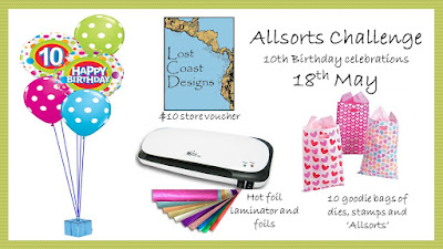 Allsorts Challenge's 10th Birthday!