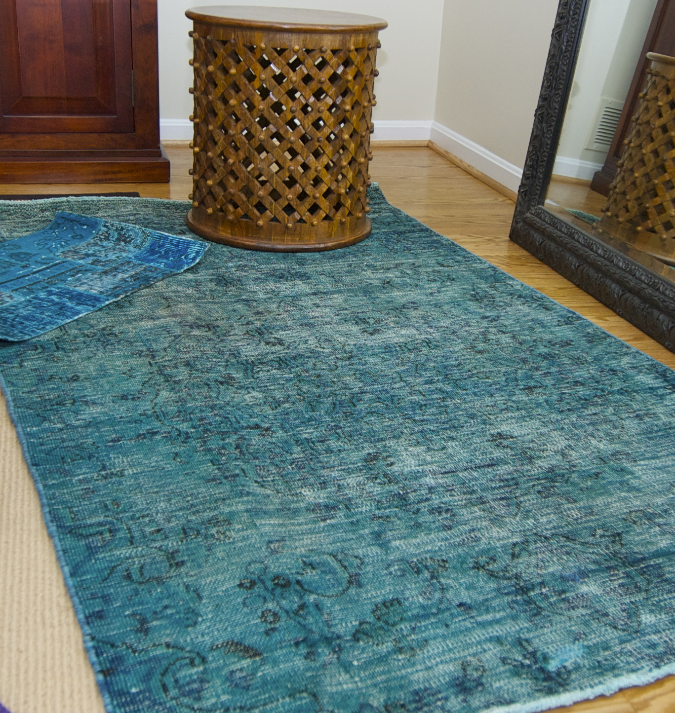 Oriental Rugs: Pretty Inspirational: Recent Projects: Over Dyed Rugs And