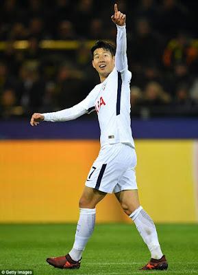 Highlight Dortmund 1-2 Tottenham, 21 November 2017