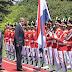 Presiden Jokowi Sambut Kedatangan Raja dan Ratu Belanda