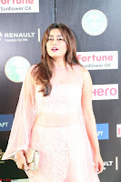 Nidhi Subbaiah Glamorous Pics in Transparent Peachy Gown at IIFA Utsavam Awards 006.JPG