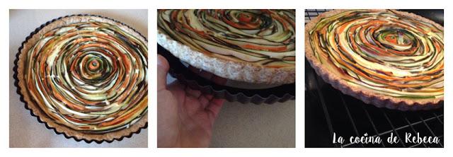 Receta de tarta espiral de verduras 05