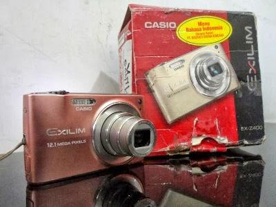 Jual Kamera Digital Casio Exilim EX-Z400