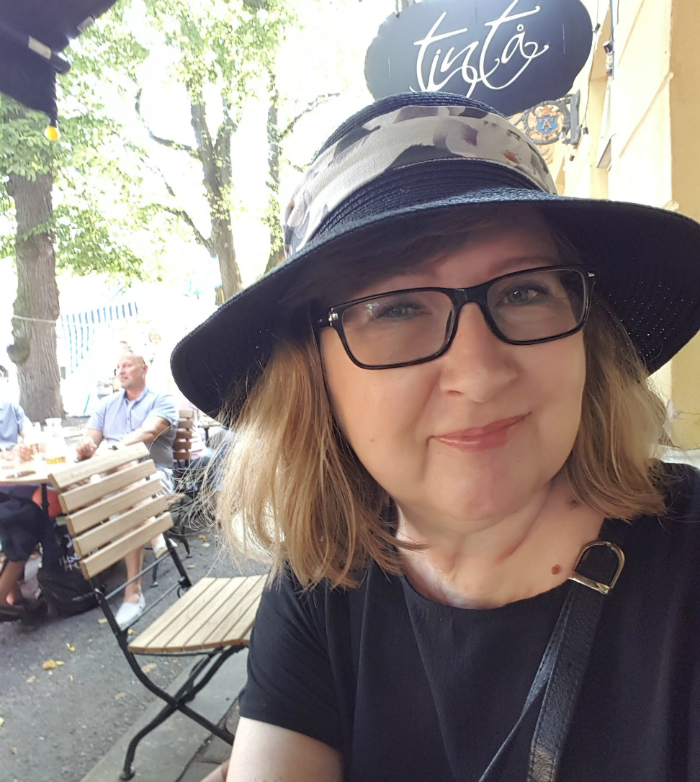 Lady of The Mess and a new hat - www.ladyofthemess.fi