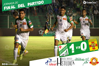 Oriente Petrolero 1 - Destroyers 0 - DaleOoo - Cafe Ideal - Hache Barber Studio - Reactiva - Pollos Buly Buly