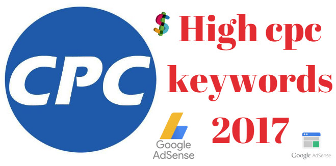 high cpc keywords 2017