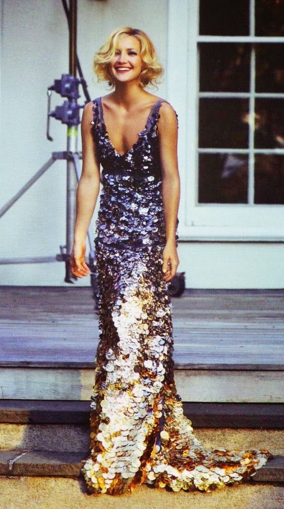 Kate Hudson in gorgeous sequin gown