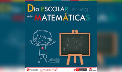 12 DE MAYO: Día Escolar de las Matemáticas