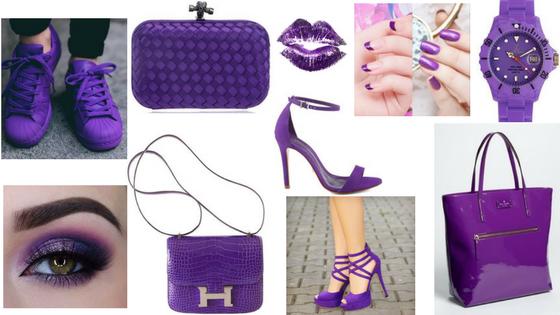 Ultra Violet Ladybug's Bijuterias