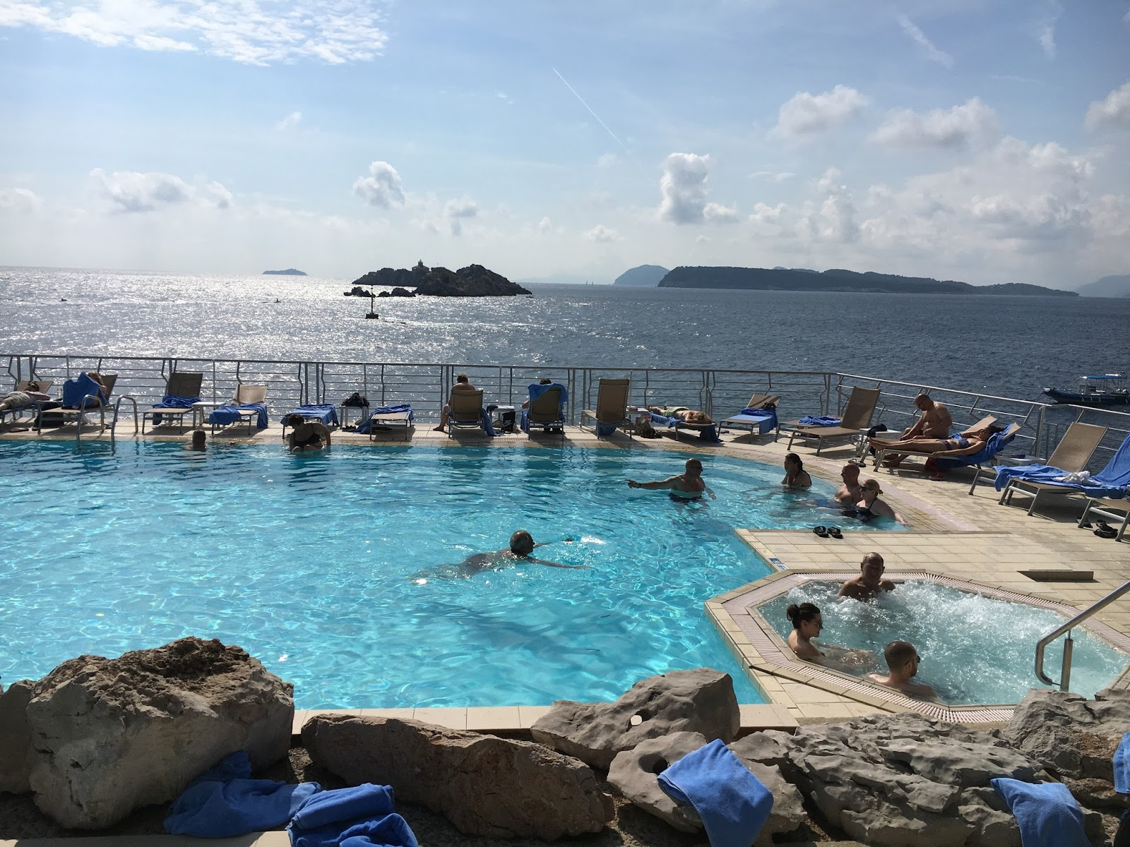 Superior Double Room With Sea View Hotel Dubrovnik Palace Croatia