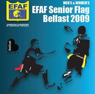 FLAG FOOTBALL - Campeonato de Europa 2009 (Belfast, Irlanda del Norte): Dinamarca y Austria se estrenan como flamantes campeonas de Europa