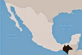En negro, estado de Chiapas