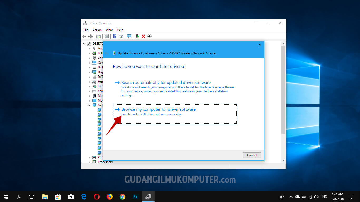 Cara Mengatasi We can't set up mobile hotspot pada Windows 10