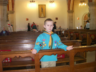 st james church milton bazaar stalls beaver scouts
