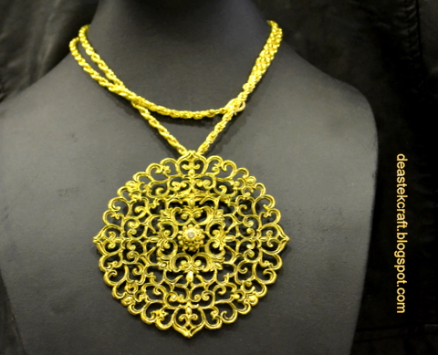 Malaysia Metal Craft Women Accesories Traditional Malay