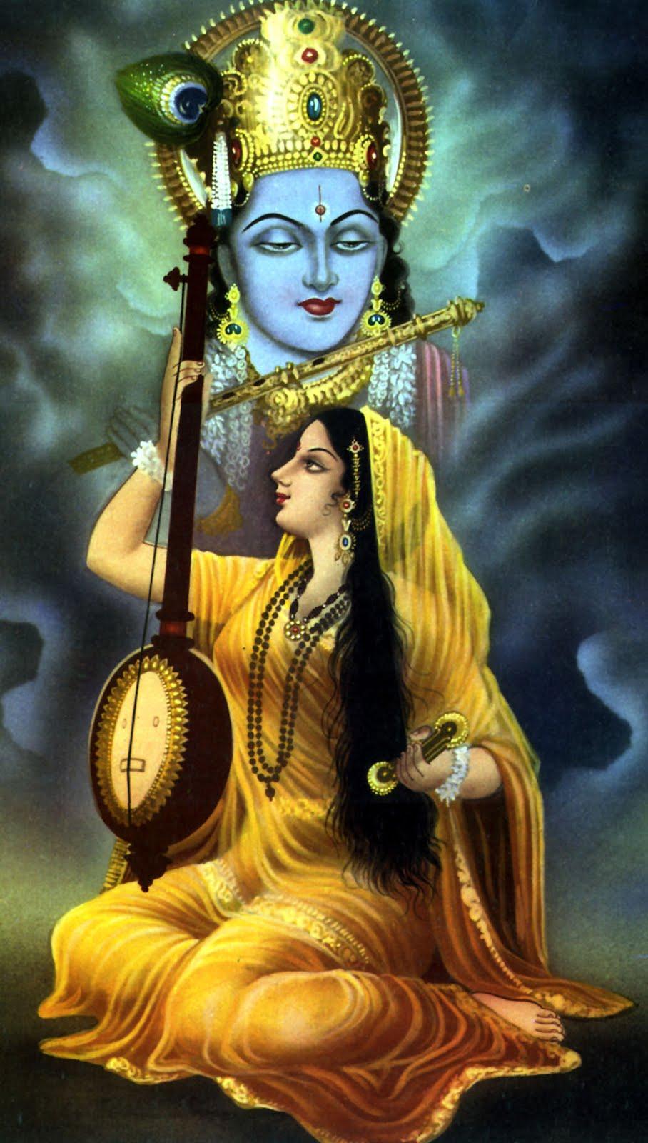 Beautiful Oil Paintings Of Lord Krishna