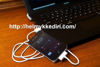 Bahaya Charger Smartphone Melalui Laptop