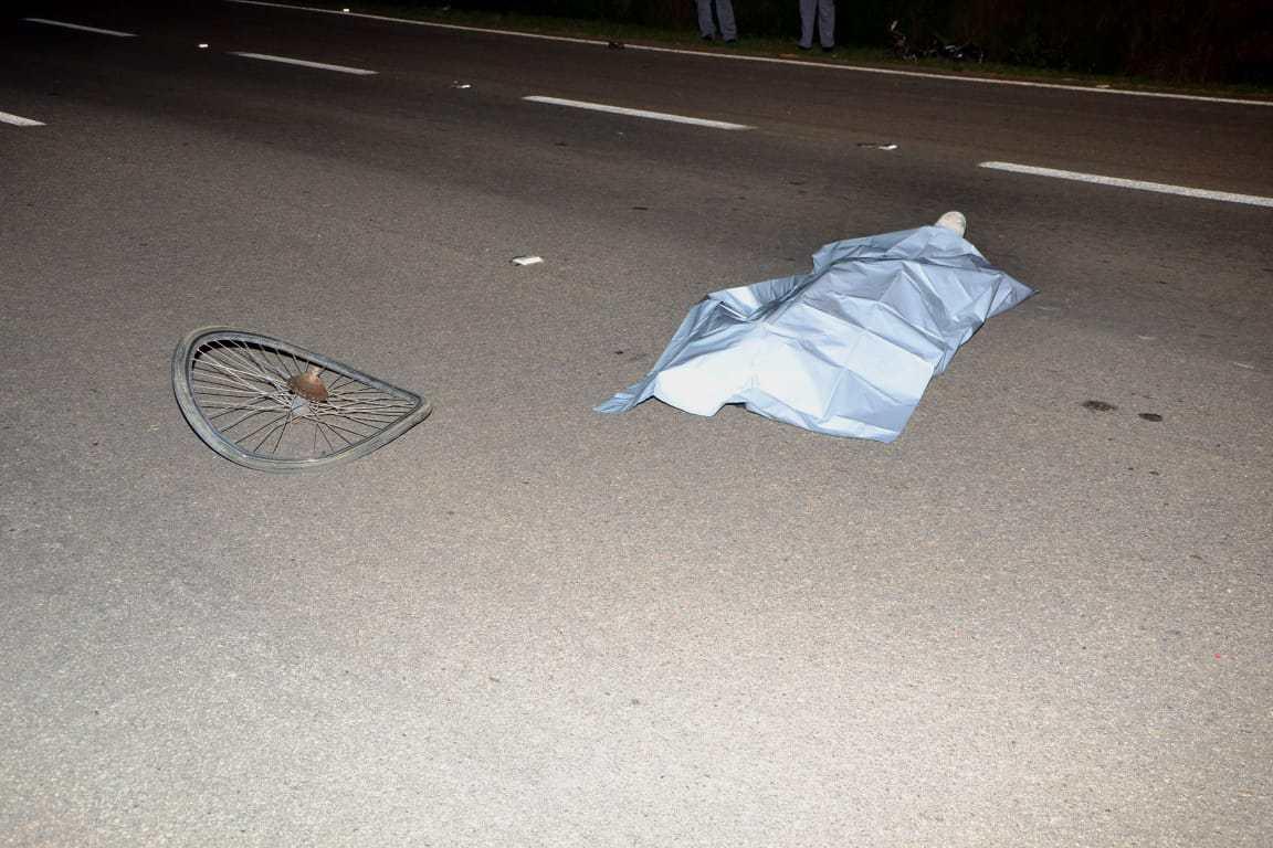Veículo com placas de Pinhal atropela e mata homem de 53 anos na rodovia SP-342