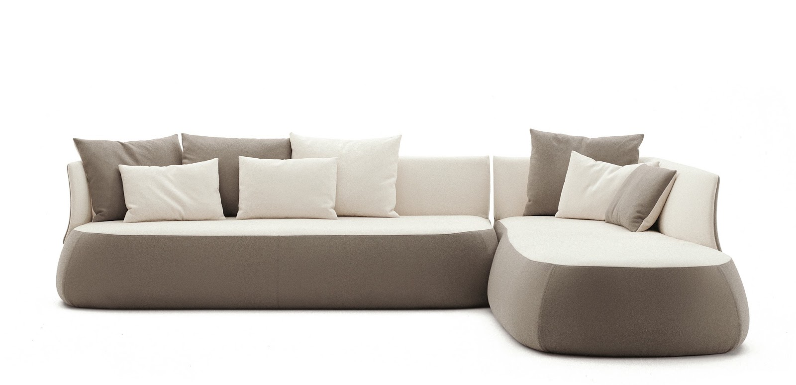 Fat Sofa By B Amp B Italia Designer Furniture Fitted