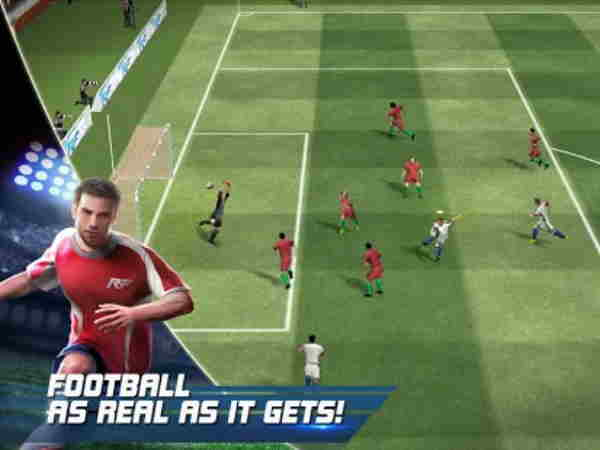 real football match app