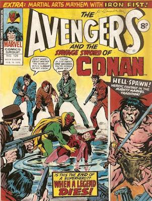 Marvel UK, Avengers #126