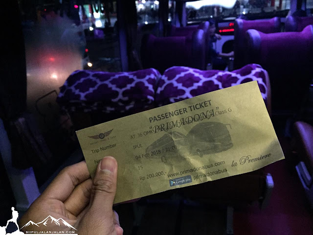 Naik bus dari Makassar ke Toraja