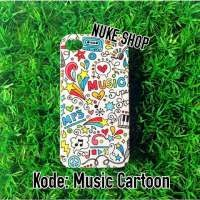 Hardcase Handphone Music Cartoon