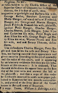 Augustine Argenbright & Others Vs Peter Hanger & Others