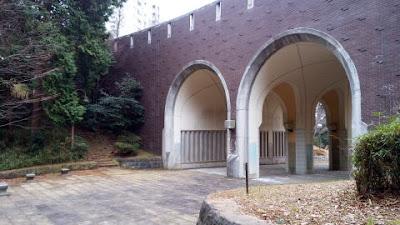 八王子市の蓮生寺公園 めがねばし