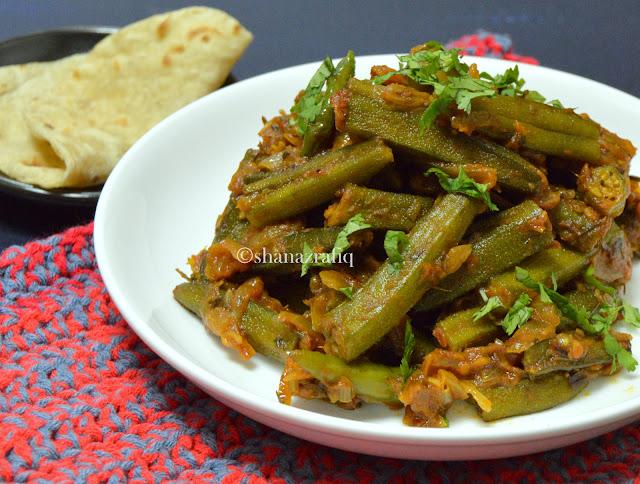 Punjabi Style Okra