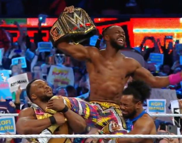 #Wrestlemania: Kofi Kingston becomes the first ever black man to emerge WWE champion