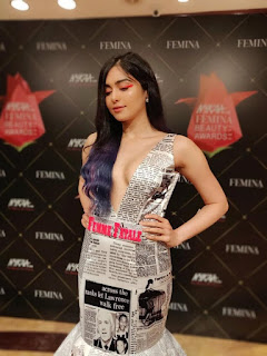 Adah Sharma at Nykaa Femina Beauty Awards 2019 (6)