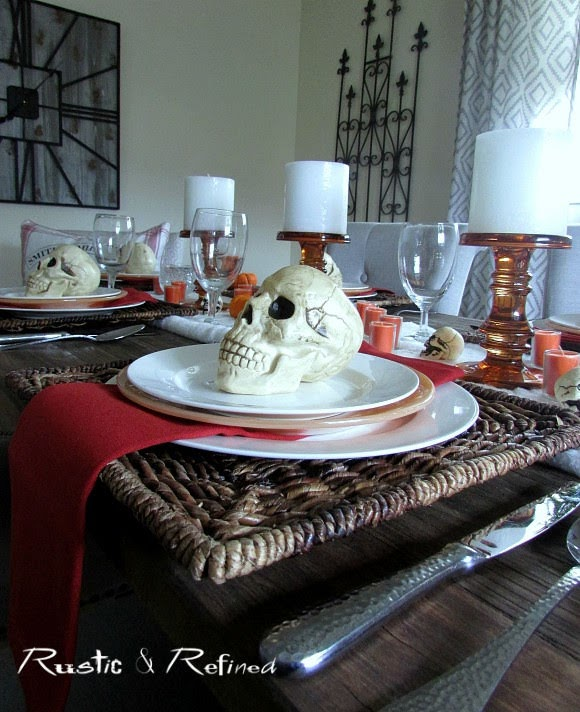 Budget Friendly Halloween Tablescape