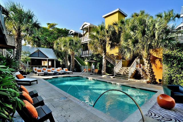 Piscina de dica de hotel em Key West