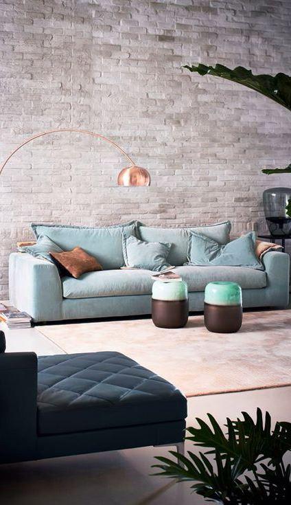 loft living room design idea